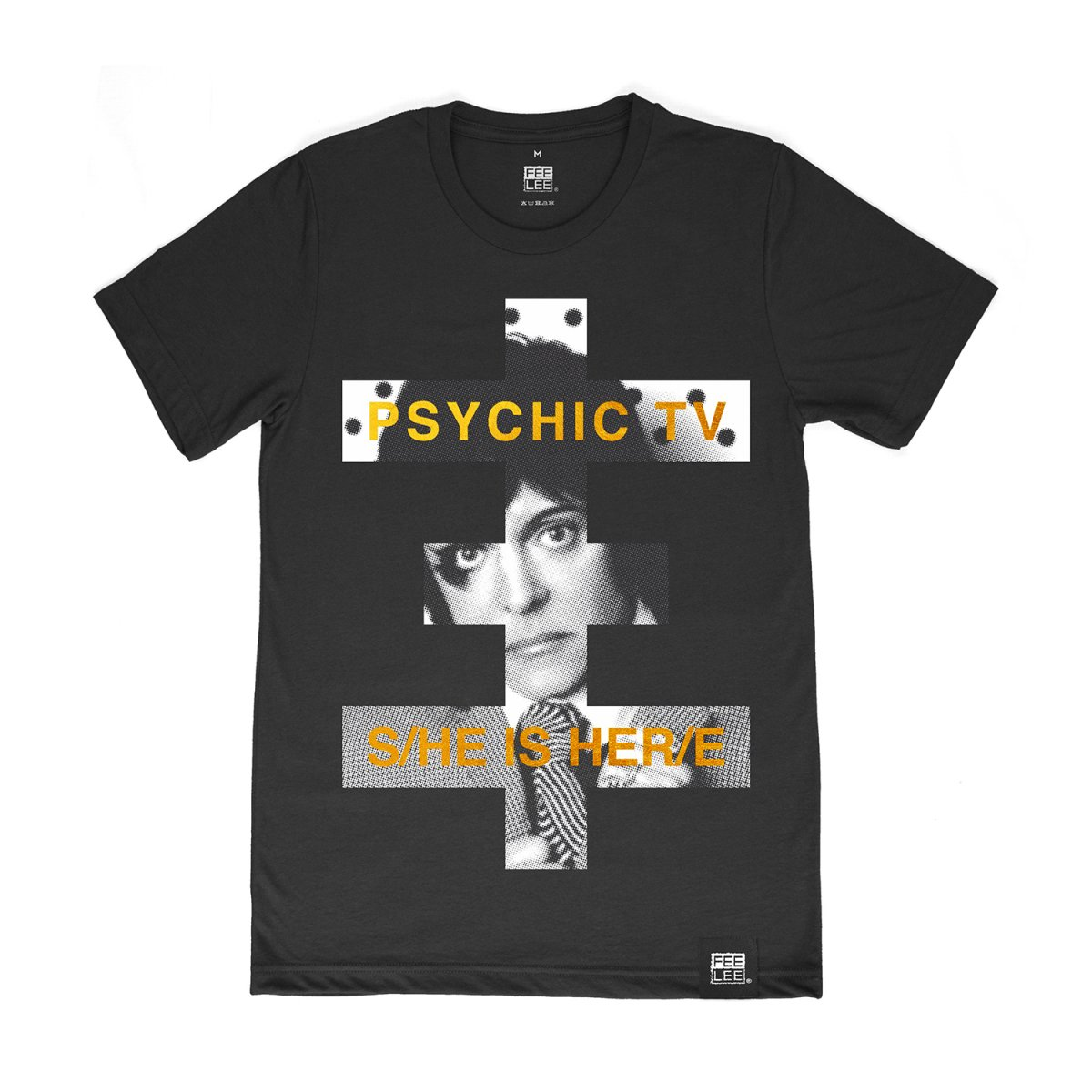 Футболка «Psychic TV». Черная