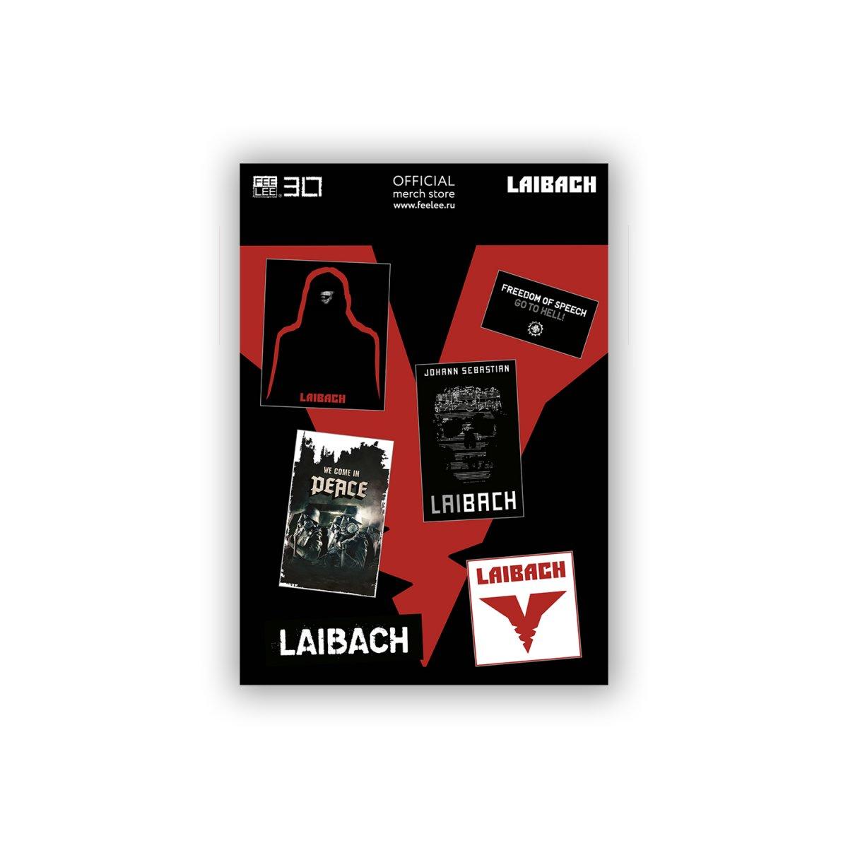 Стикерпак «Laibach»