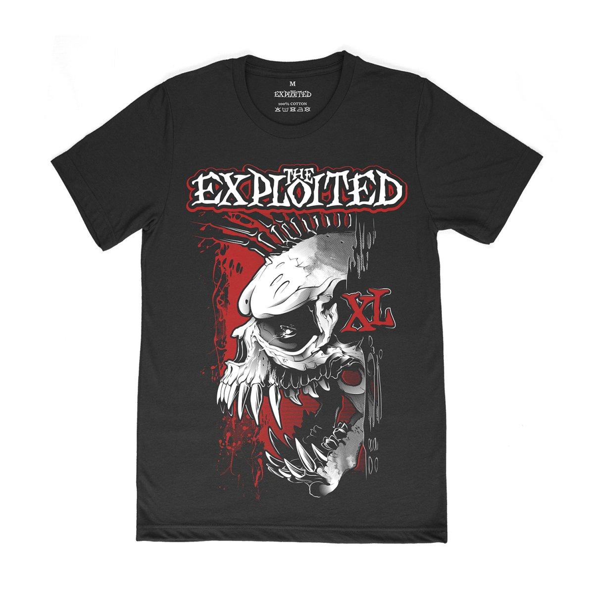 Футболка «The Exploited. XL TOUR»