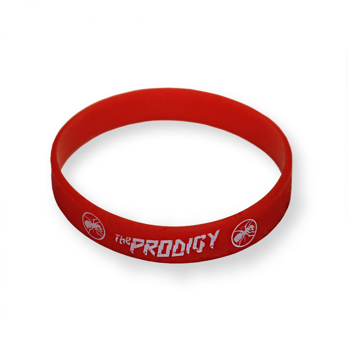 Браслет «The Prodigy. Logo». Красный