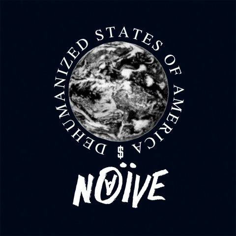 Наив. «Dehumanized States of America» (LP) Белый мрамор