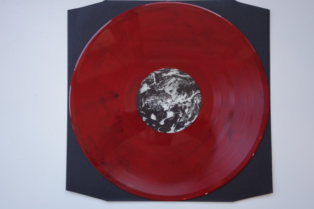 Наив. «Dehumanized States of America» (LP) Красный мрамор