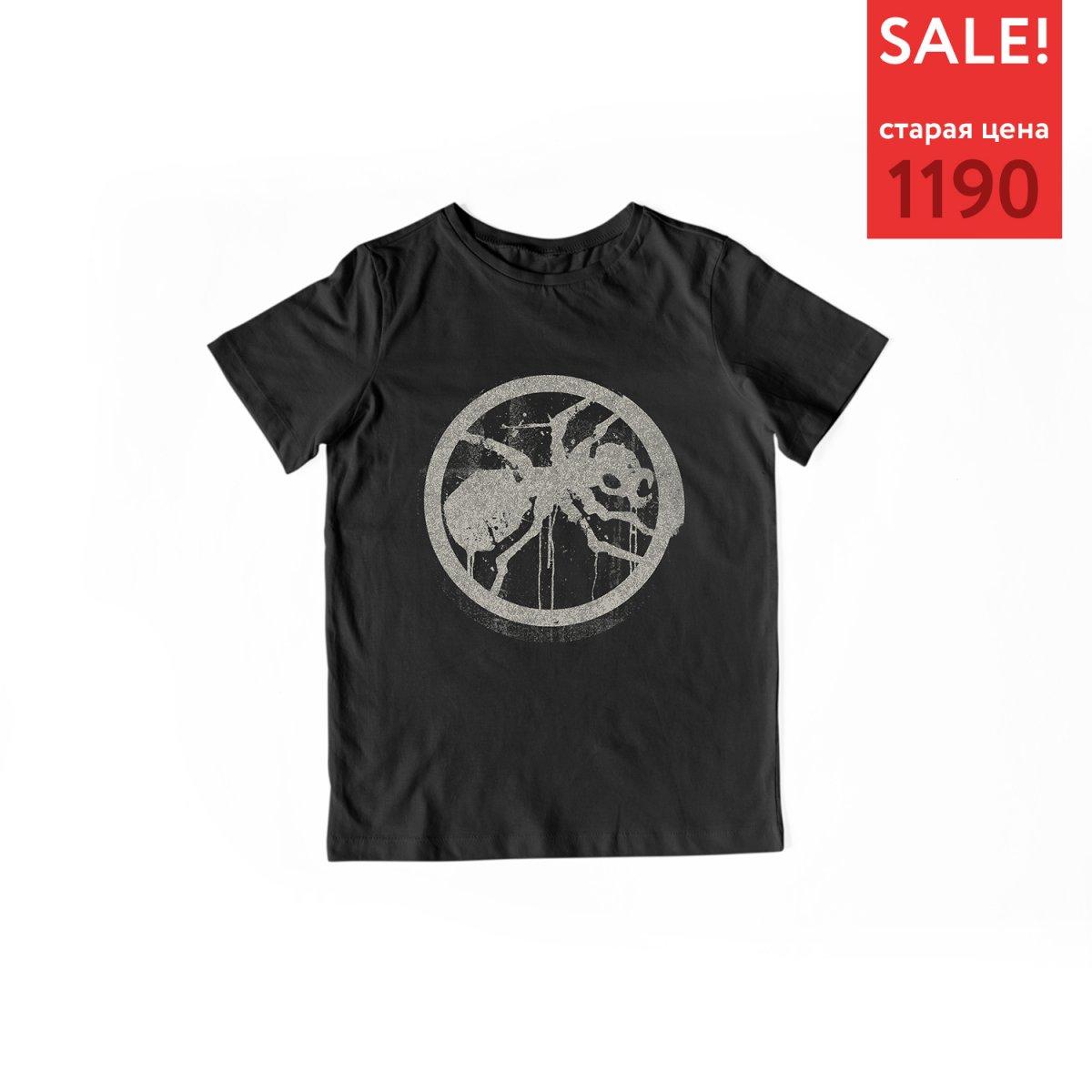 Детская футболка «The Prodigy. Distressed Ant»