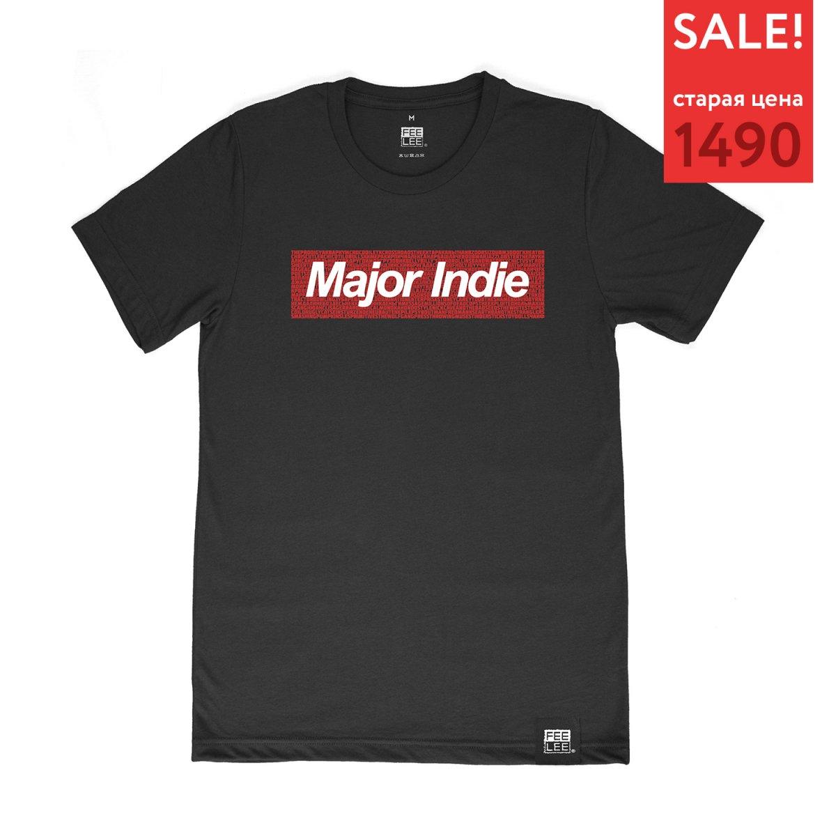 Футболка «Major Indie»